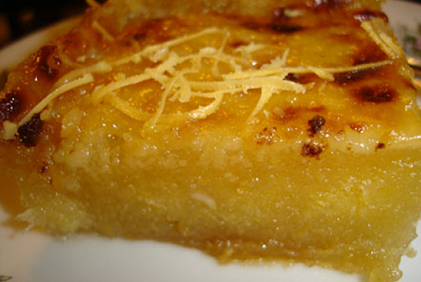 Goldilocks Cassava Cake Recipe