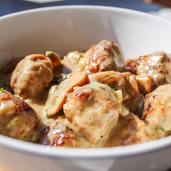 Meatballs with Mushroom Sauce RecipeKusina Master Recipes